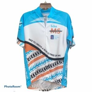 Other - Men's cyclist jersey Medium excellent condition